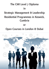 Download the Level 7 Strategic Management and Leadership Brochure