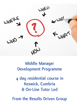 Download the Middle Manager - Management & Leadership Development Programme Brochure