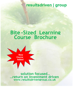 Download the Bite-Size Learning Brochure