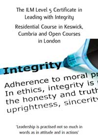 Download the Leading With Integrity Course Brochure