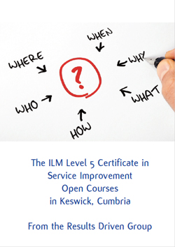 Download the Service Improvement Level 5 Certiificate Brochure